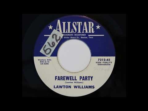 Lawton Williams - Farewell Party (Allstar 7212)