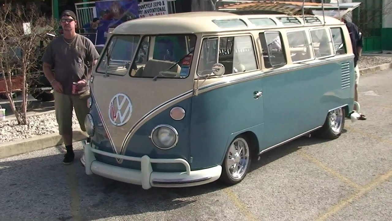 Very rare 22 window 60 39 s split window vw bus youtube for 11 window vw bus