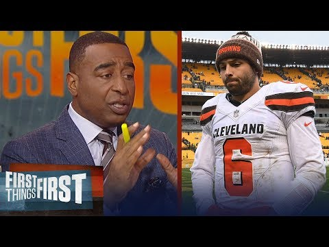 Cris and Nick react to Steelers 33-18 rout over Baker's Browns in Week 8 | NFL | FIRST THINGS FIRST