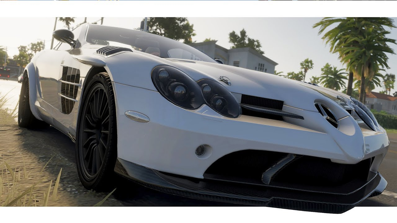 The Crew 2 Mercedes Benz Slr Mclaren 722 Edition 2007 Customize