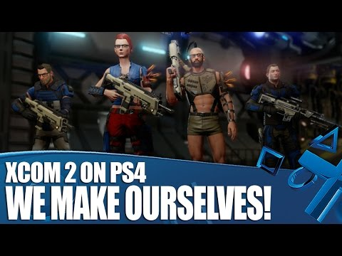 XCOM 2 on PS4 - Character Customisation. We Make Ourselves!