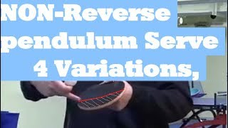 [Learn]Popular in Table tennis Tournament,  Normal pendulum service Tutorial (English)