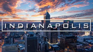 Indianapolis Downtown Cinematic   Drone & Osmo   4K