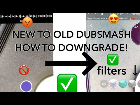HOW TO GET THE OLD DUBSMASH BACK ! *IPHONE AND ANDROID WORKING 2018!!*