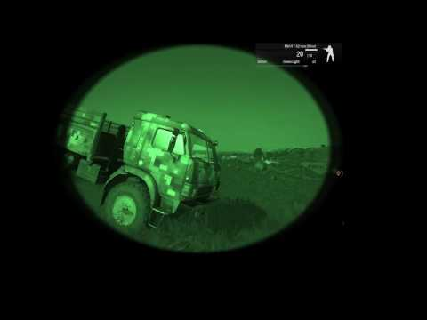 Arma 3 - Defending the UAV at Night