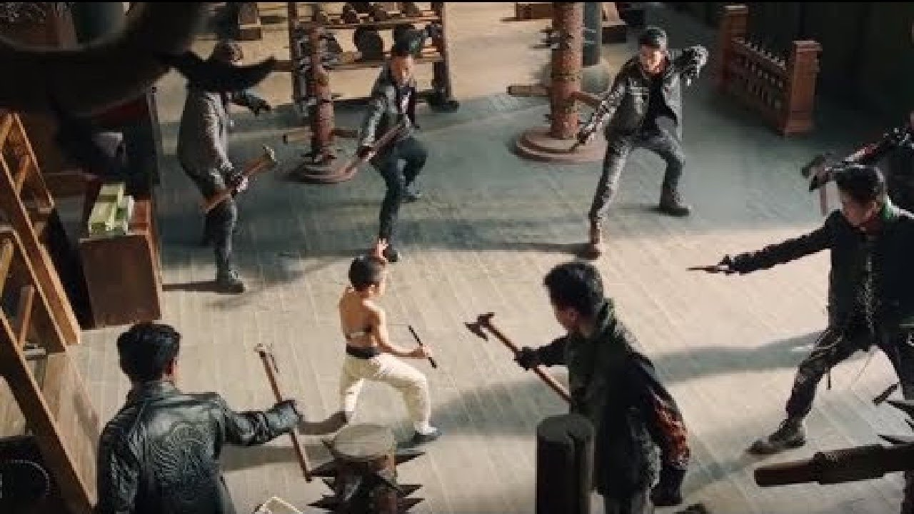 Download Lastest Chinese Action movie - Best Kung Fu Martial art