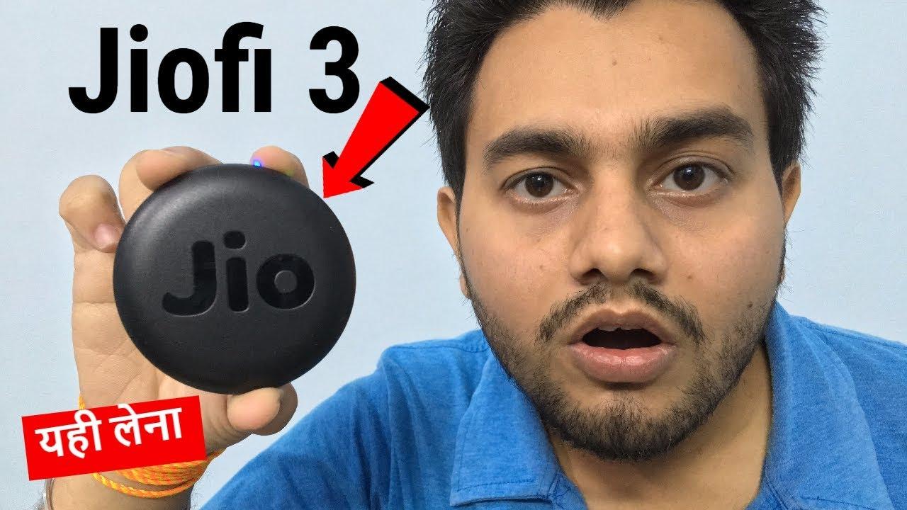 SRJ TECH WORLD JioFi 3 Unboxing & Review | Connect 31 Devices