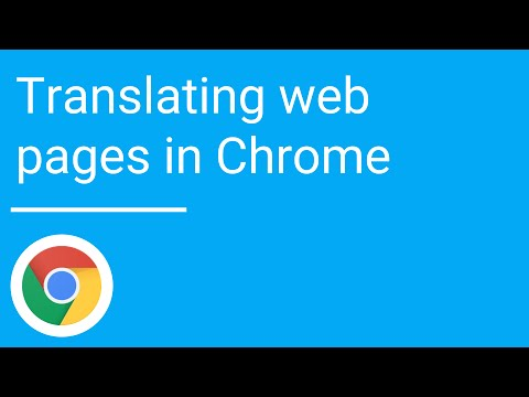 How to translate google chrome