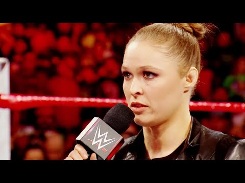 A special look back at Ronda Rousey's Raw debut