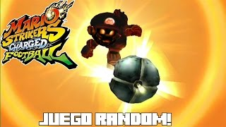 JUEGO RANDOM! Mario Strikers Charged Football!