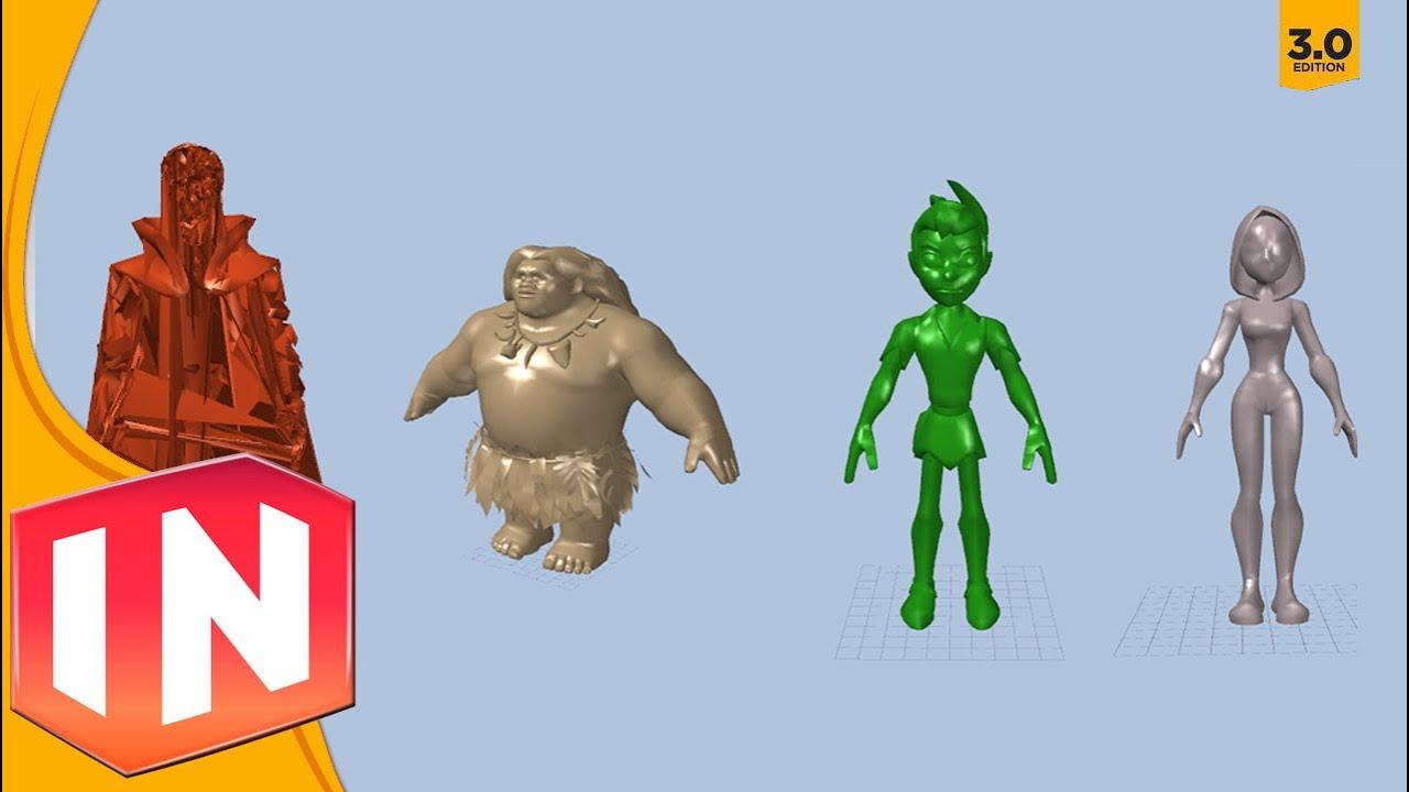 Disney Infinity 3 0 New Character Models Found Dr Strange Maui