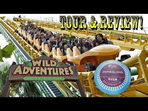 Wild Adventures Theme Park Tour & Review - Valdosta, Georgia