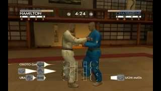 David Douillet Judo (short gameplay)