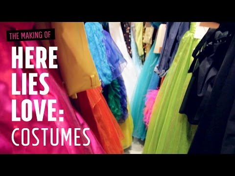 The Making of Here Lies Love: Costumes