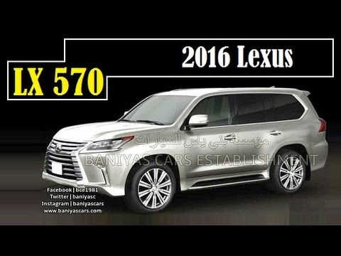2016 Lexus Lx 570 Leaked Taken From A Brochure In An