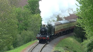 First running day of 2021 at West Somerset Railway with 9351