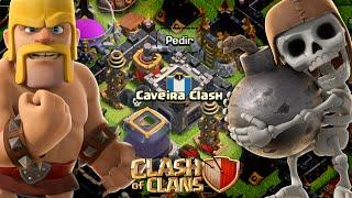 PRIMEIRO CLAN DO CANAL CAVEIRA CLASH VAGAS ! - CLASH OF CLANS