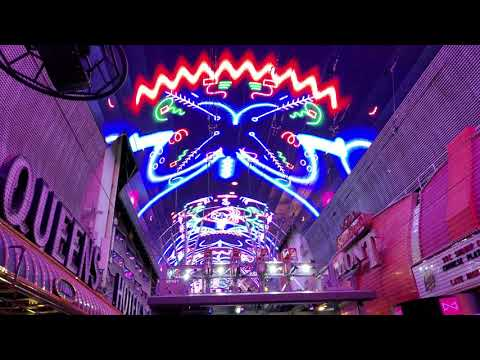 The Chainsmokers Viva Vision show at Fremont Street Experience and the new upgraded screen