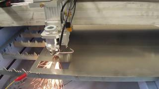 150w thin metal sheet CO2 CNC laser cutting machine for A6S cutting SS 1.7mm