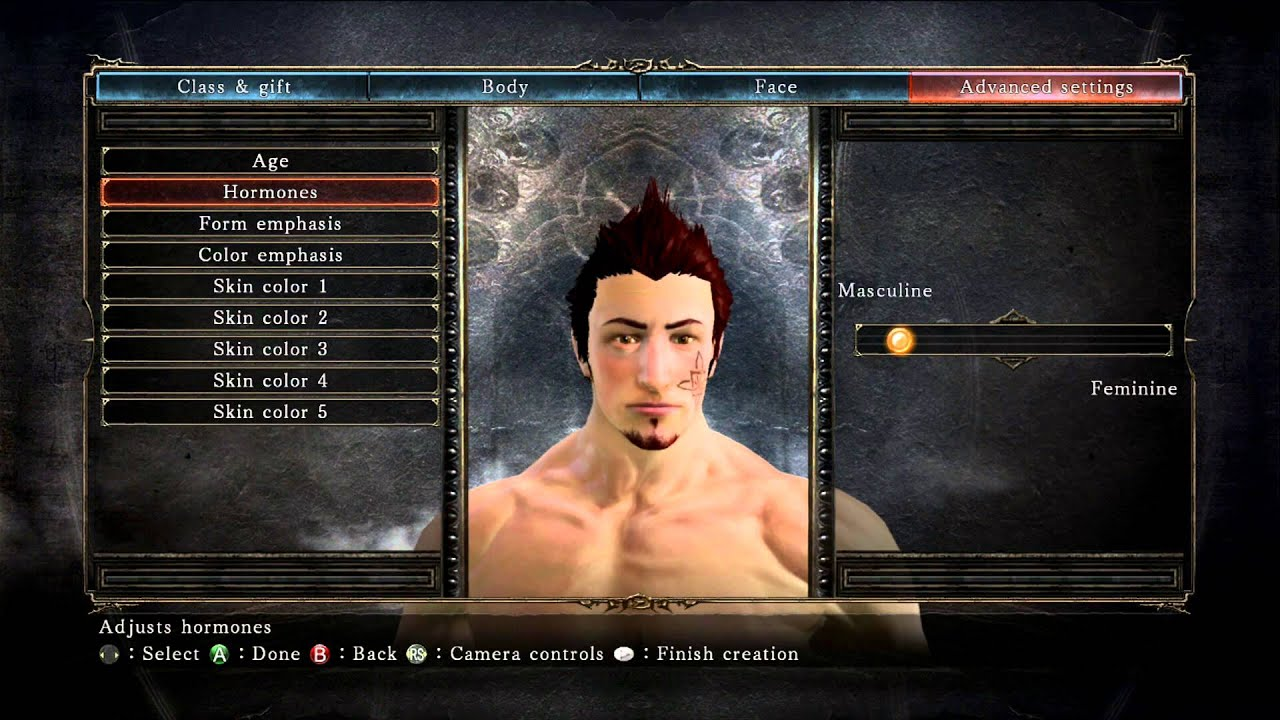 Dark Souls 2 - Character Customization (Male) - YouTube