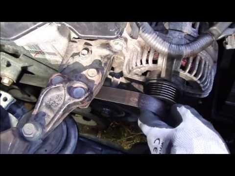 How to setup drive belt or serpentine belt Toyota VVT-i engine VERY