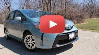 2015 Toyota Prius V Review | 2015 Toyota Prius V Test Drive | Chicago News
