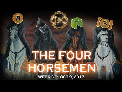 Bitcoin Ethereum NEO BCash 4⃣ 🏇 2017 Cryptocurrency News Bes