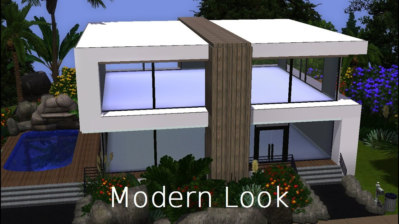 The sims 3 house buildingModern Look HD YouTube