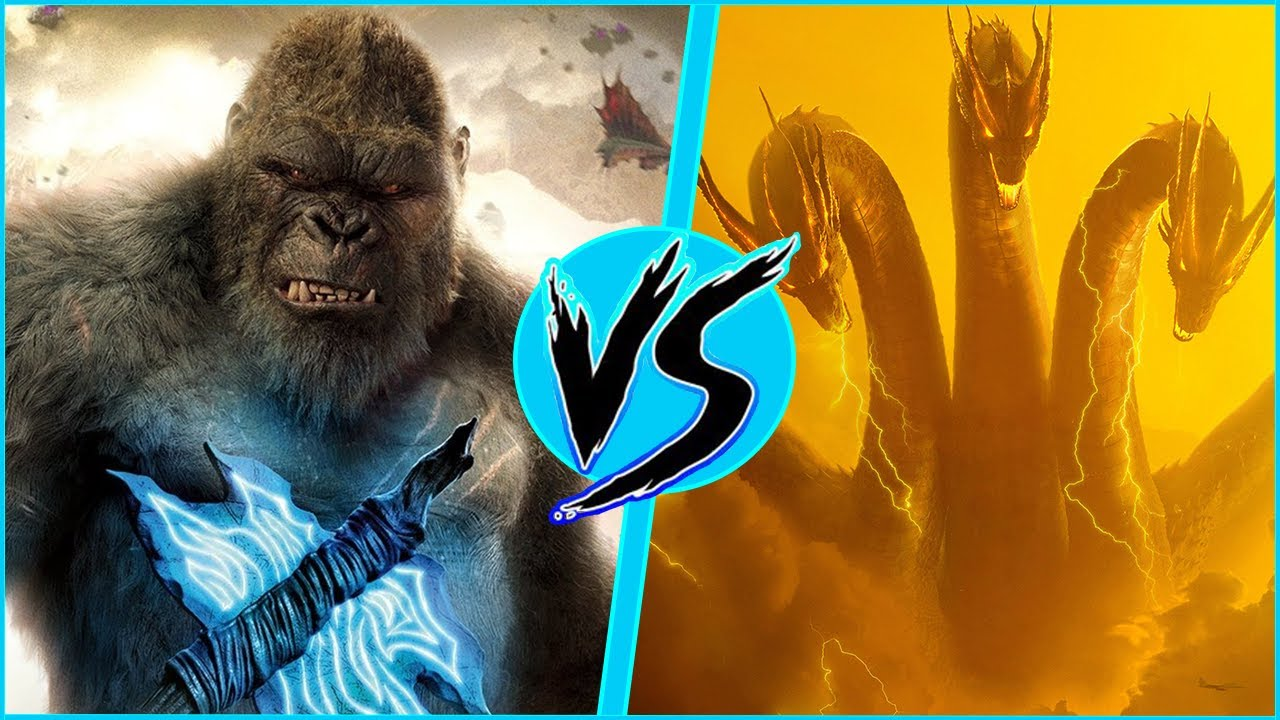 King Kong VS King Ghidorah | BATTLE ARENA | Godzilla vs Kong | DanCo VS