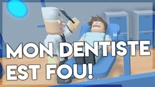 OUR DENTIST IS CRAZY! Roblox Obby Escape Dentist