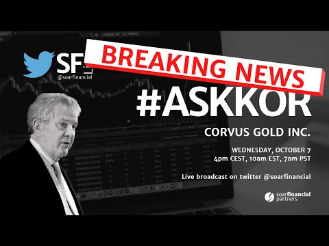 ECONOMIC GOLD MINES IN NEVADA // Breaking News Special with Corvus Gold Inc.