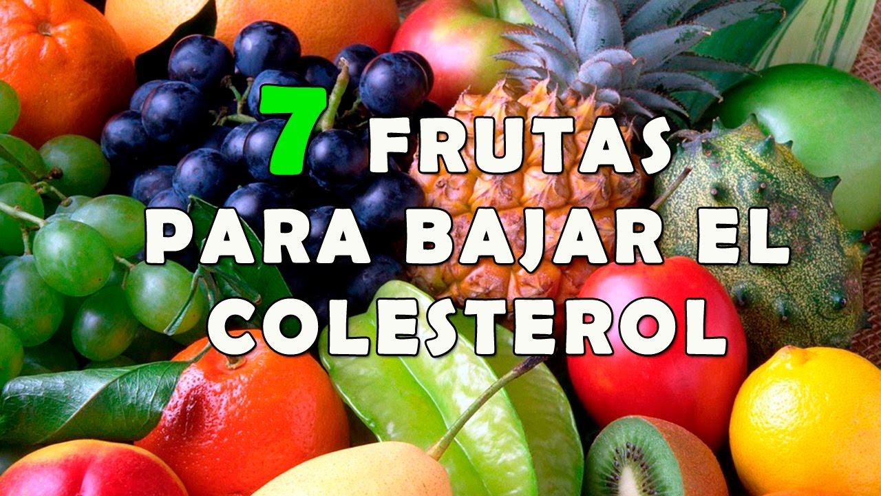 7 deliciosas frutas que ayudan a bajar el colesterol frutas para bajar el colesterol youtube - Trigliceridos alimentos ...