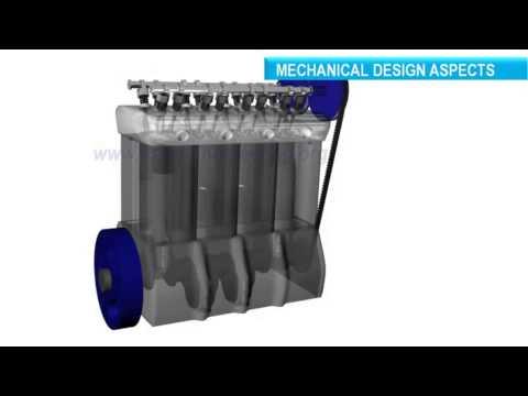 Funzionamento motore diesel 3D