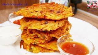 KHOAI TÂY CHIÊN GIÒN Finger Food - Cách làm Bánh Khoai Tây KHÔNG bị Ngấm Dầu by Vanh Khuyen