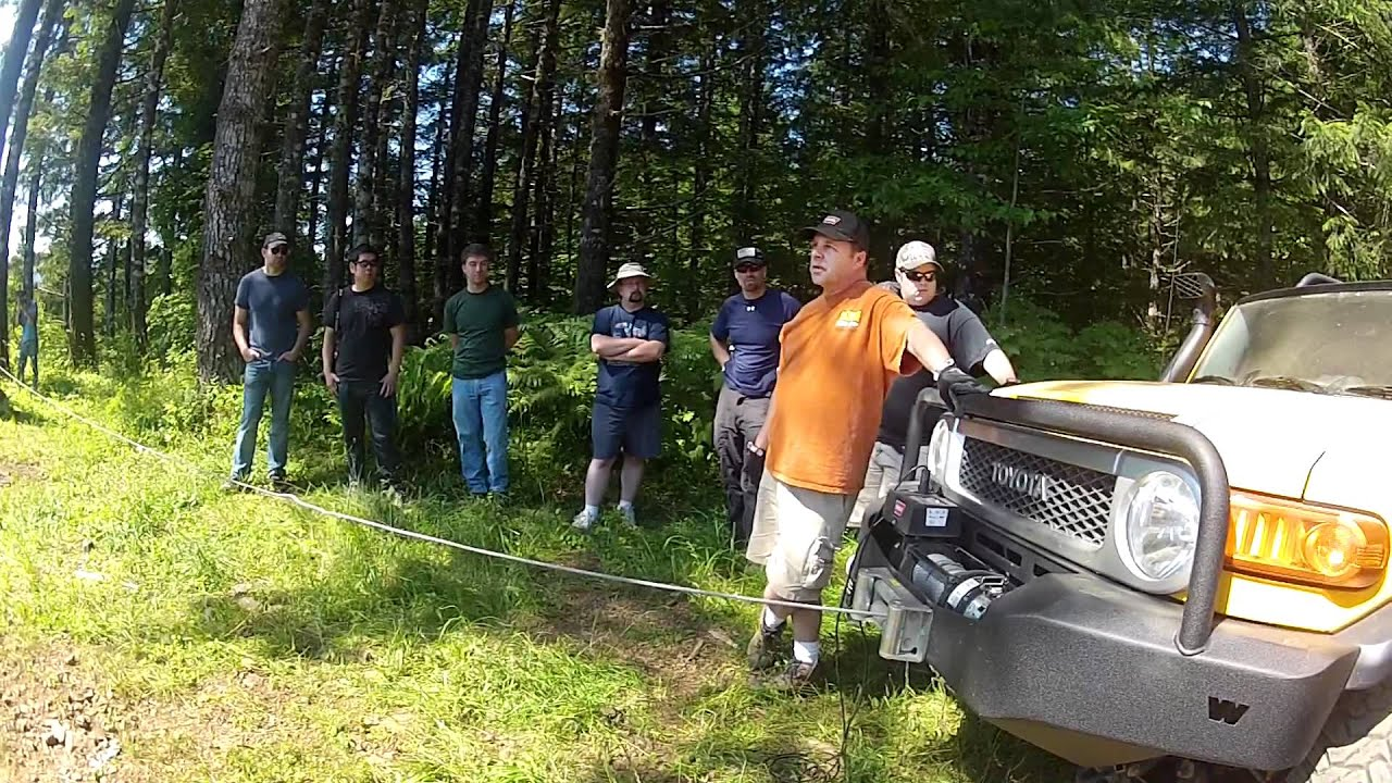 hight resolution of warn winch training session oregon july 8 2012