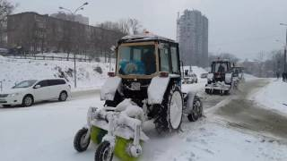 Начало зимы во Владивостоке в ноябре