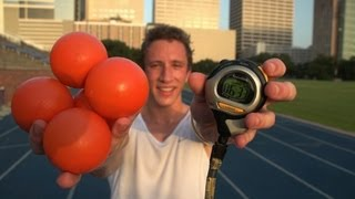 World record in joggling broken at Rice University