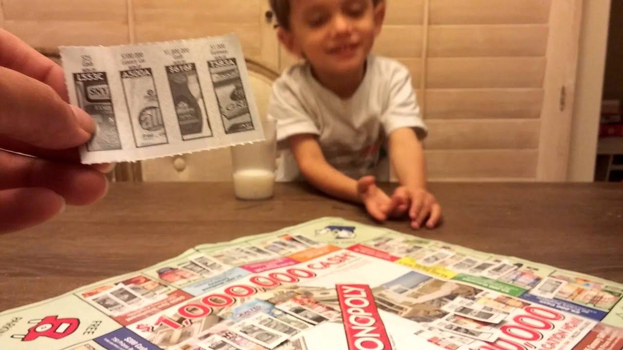 Safeway monopoly tickets