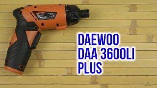 Розпакування Daewoo DAA 3600Li Plus