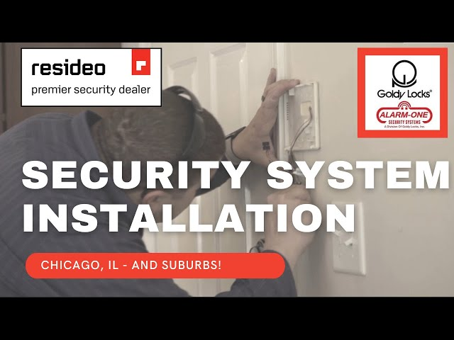 Security System Installation in Chicago | Resideo & Honeywell Alarms | Goldy Locks, Inc.