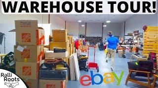 Inside Our New eBay Reseller Warehouse!