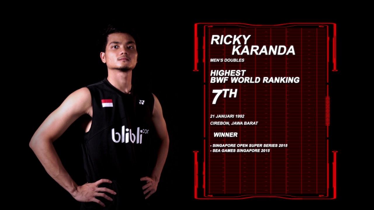 Dukung Ricky Karanda Suwardi BCA Indonesia Open 2017