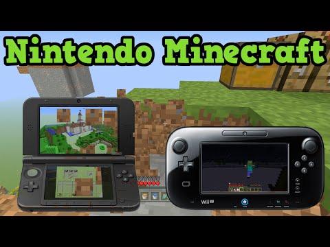Minecraft 3ds Gameplay Minecraft Nintendo 3ds Edition