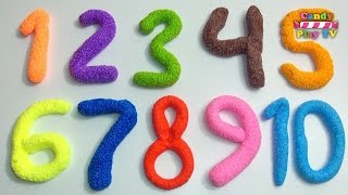 Learn To Count make Numbers with Play Doh  Learn To Count with Playdough  Learn Colors Collection