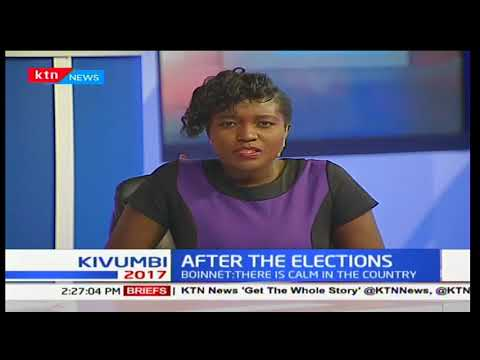 Security and Political situation in Kenya after August 8th Elections