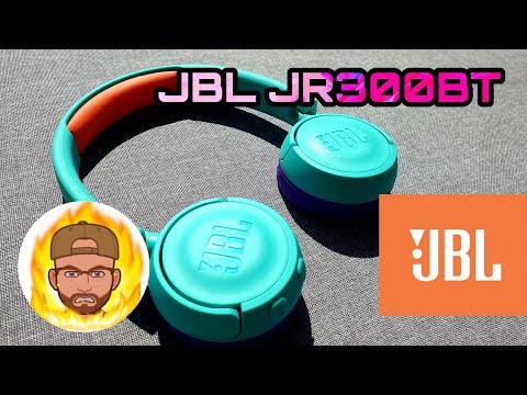 Наушники JBL JR 300 BT Tropic Teal (JBLJR300BTTEL)