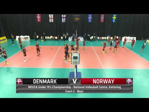 Day 1 Boys Court 2   Denmark v Norway