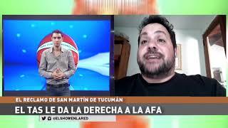 Afa, El TAS y el fallo en contra de San Martin en El Show En La Red 01 10 2020