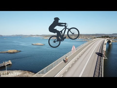 Moroccan in a simple day biking to Marstrand - Sweden 4K