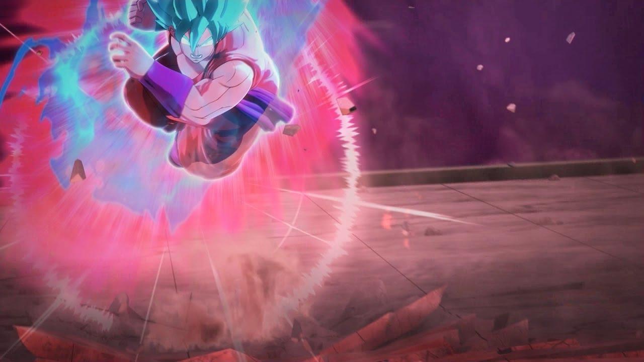 goku super saiyan blue kaio ken x 10 vs hit english dub dragon